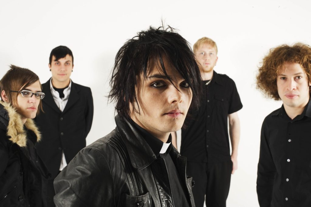 my chemical romance con ropa emo