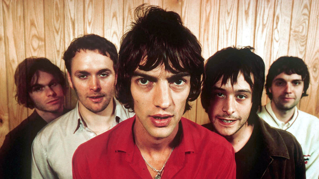 the verve con ropa rockera